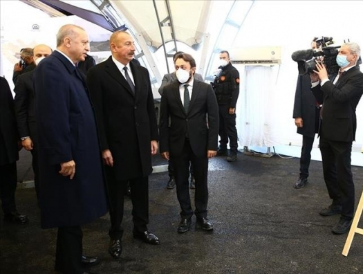 Алиев с Эрдоганом посетили и фотовыставку Байрактара в Зангилане