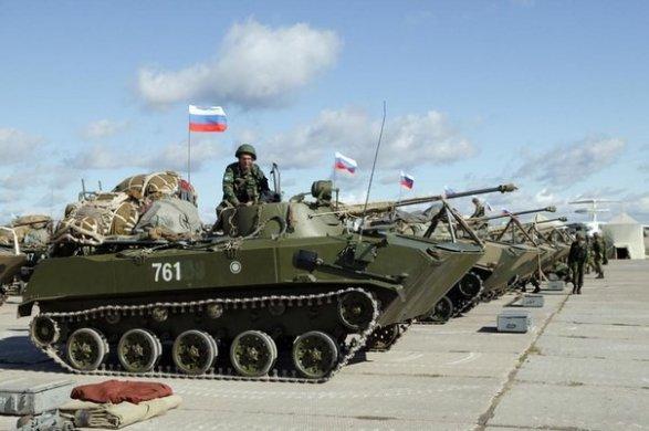 россия стягивает свои войска армения