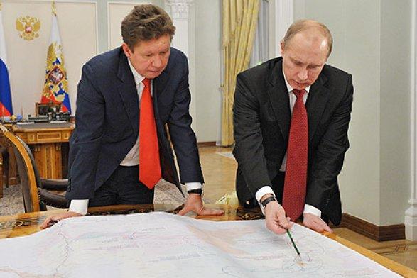 Газпром зароет трубы в новом месте
