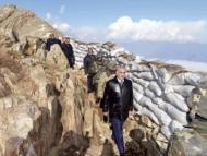 Васиф Талыбов в окопах