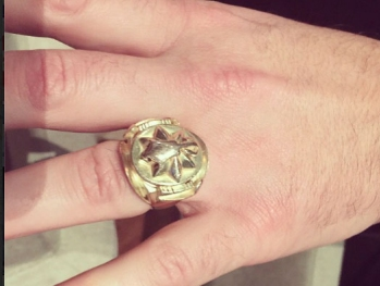 Легендарное кольцо иранского шаха у Эмина Агаларова (фото)