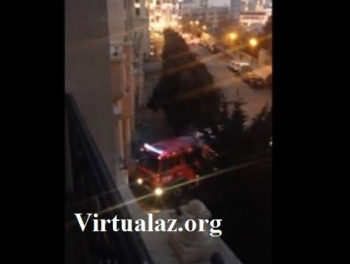 Пожар в доме чиновников президентской администрации (фото, видео) (эксклюзив)