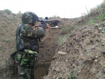 Бои в Карабахе: армяне несут потери + реакция Минобороны Азербайджана