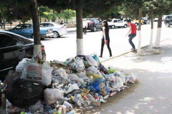мусор в Баку 2019