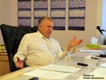 Владимир Жириновский: «В Карабах надо ввести русские войска»