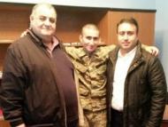 Армянский перебежчик стал художником в Азербайджане